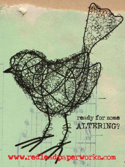 Altered-wire-bird!