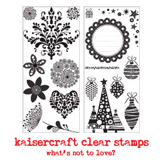 Kaisercraft-clear-stamps!