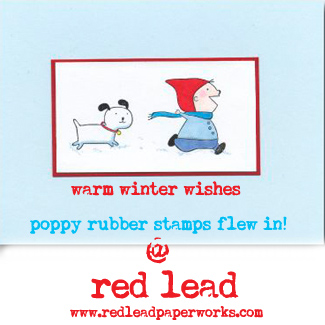Poppy-rubber-stamps!