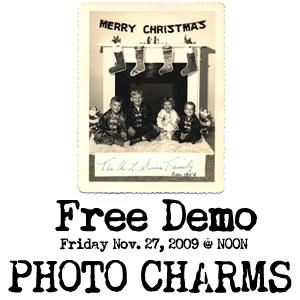 Photo charm demo