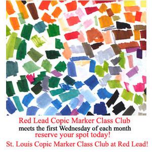 St. Louis Copic Marker Club!