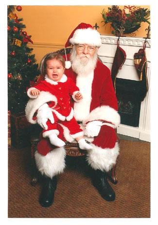 Baby-Ava-with-Santa!
