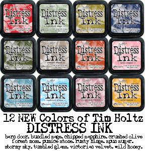 Tim holtz new distress inks