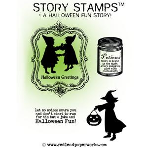 Rubber-stamp-Halloween-Fun!