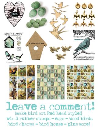 Make-bird-art!
