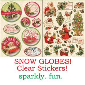 Snow-globes!