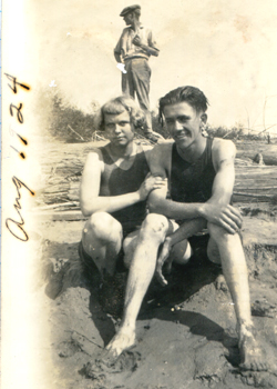 Old-photo-At-the-River!
