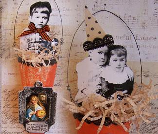 Halloween-cones-Vintage!