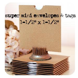 Melissa-mini-tags-envelopes