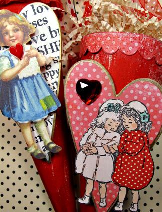 Valentine-cones
