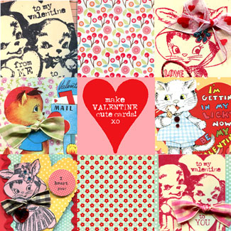 Valentine-collage
