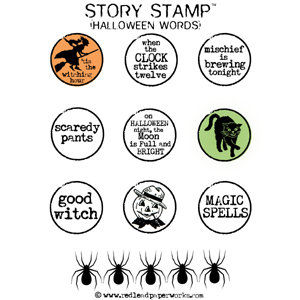 Rubber-stamps-Halloween-Wor