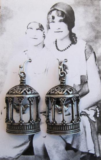 Earrings-Birdies!