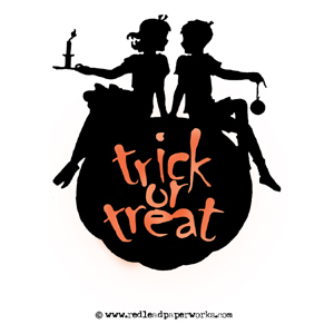 Rubber-stamps-trick-or-trea