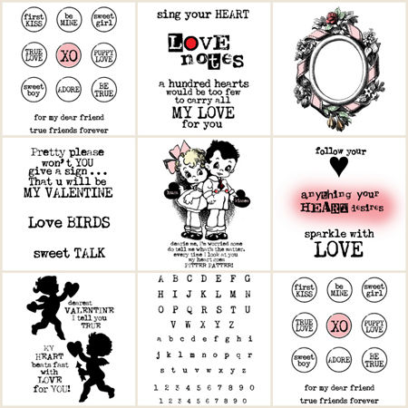 Valentine-Rubber-Stamps