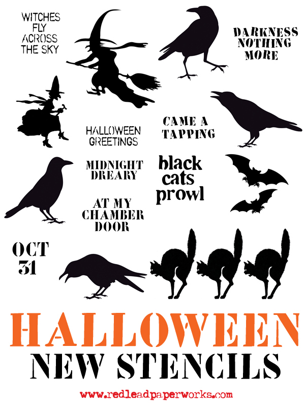 Halloween-Stencils!