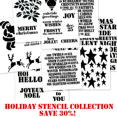 Stencil-Holiday-Collection!
