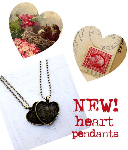 Heart-pendants!!