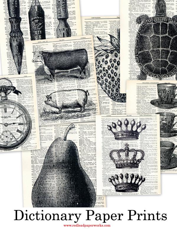 Dictionary-Paper-Prints!!