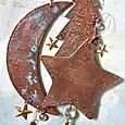 Workshop Metal Stamped Patina Copper Ornaments