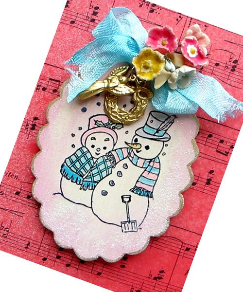Snowcouple-ornament