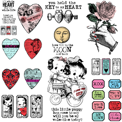 Valentine-rubber-stamps!!
