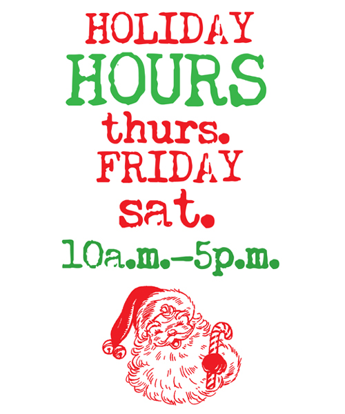Holiday-Hours!