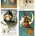 Free Collage Sheet Halloween Images