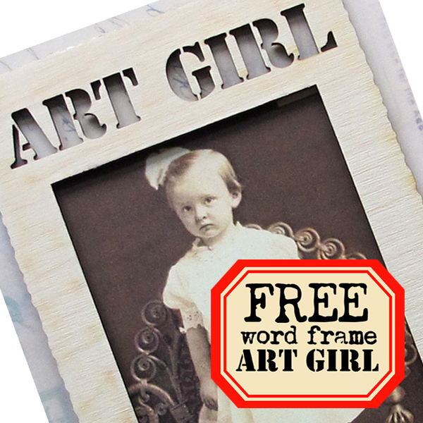 Free-Art-Girl-Frame!