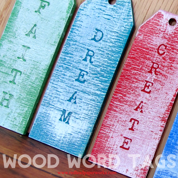 Wood-Word-Tags!