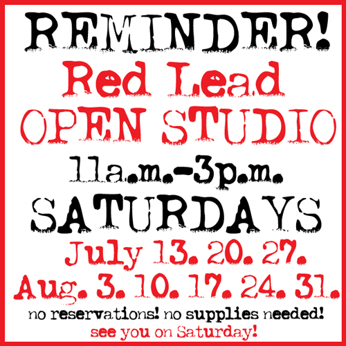 Open-Studio-Reminder!