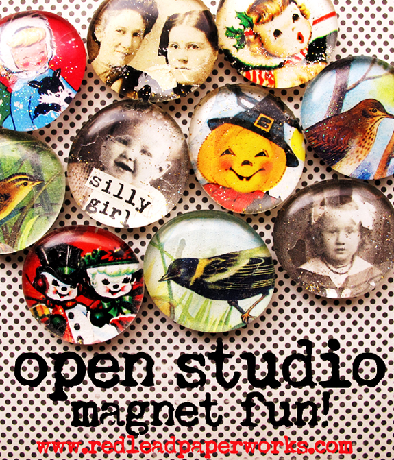 Open-studio-magnet-Fun!!