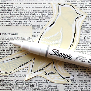 Sharpie-White!!