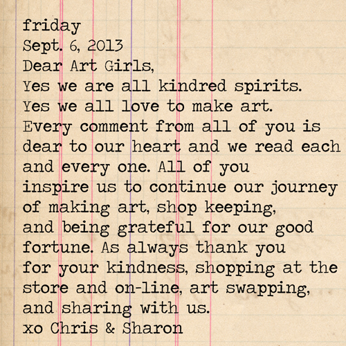 Dear-ArtGirlsFriday!