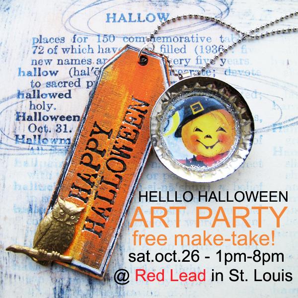 HalloweenArtParty2013