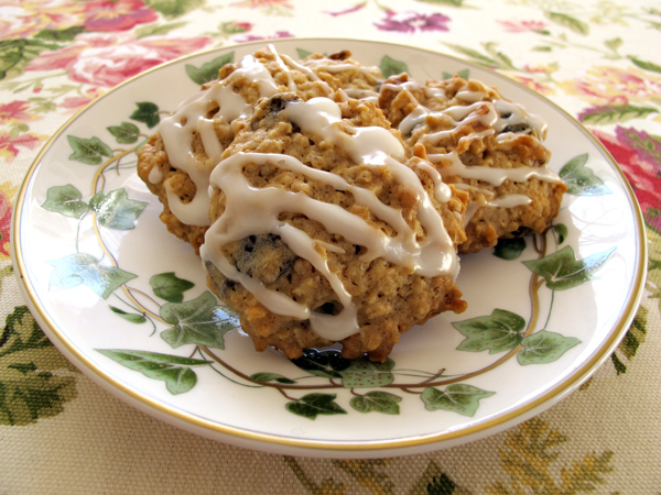 Maple-Oatmeal-Cookies!