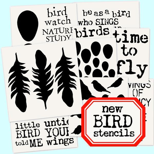 New-Bird-Stencils!