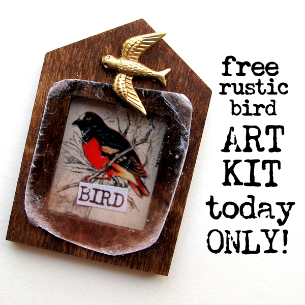 Rustic-Bird-Art-Kit!