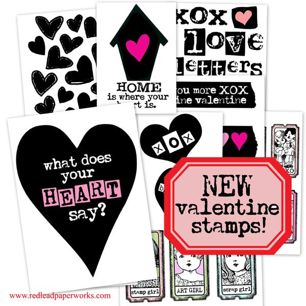 Valentine-Stamps!!