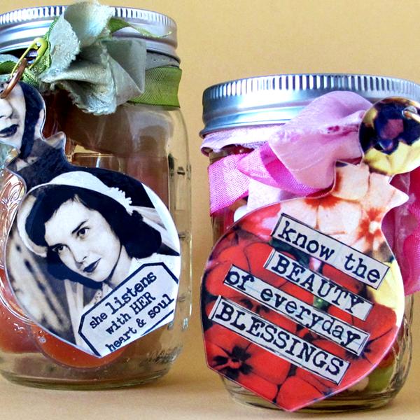 Embellished-Jars!