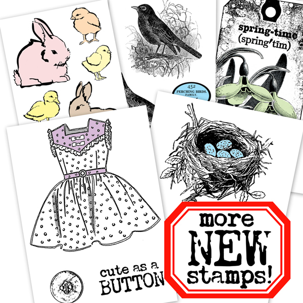 New-Stamps-April 2014!