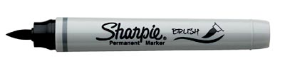 Sharpie-brush-marker
