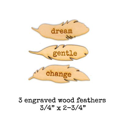 Wood-feathers-dream!