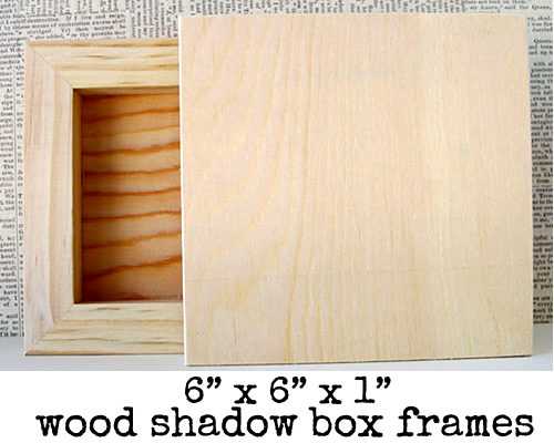 Wood-shadow-Box-Frames!