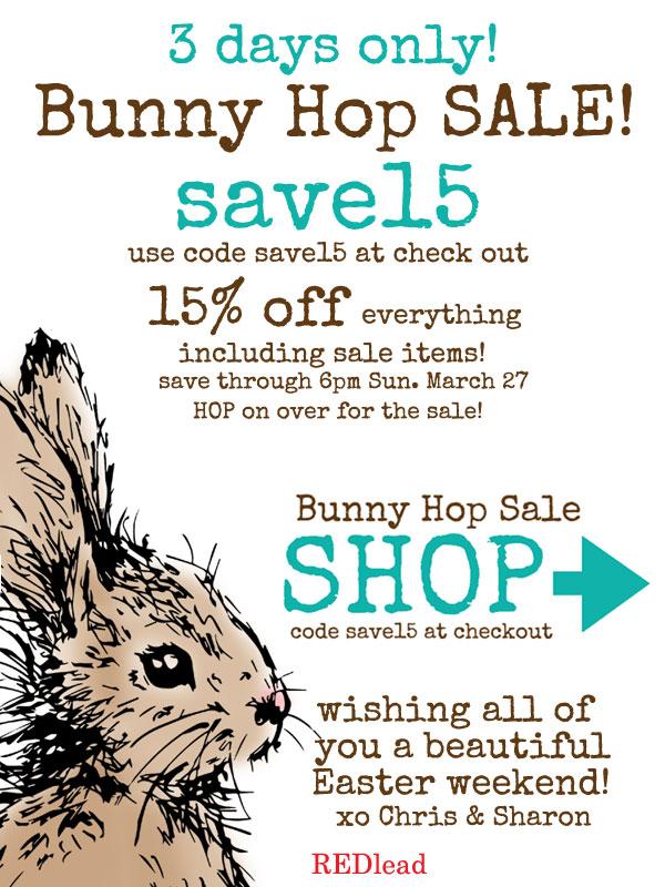 Bunny-Hop-Sale!
