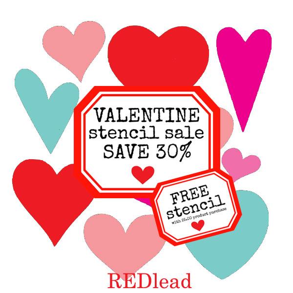 Valentine-stencil-sale!