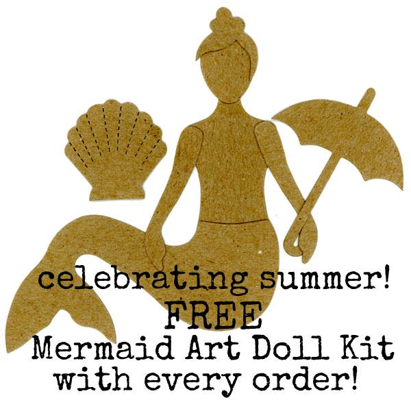 Mermaid-art-doll
