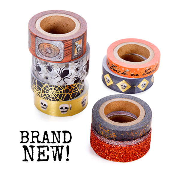 Washi-tape-Halloween