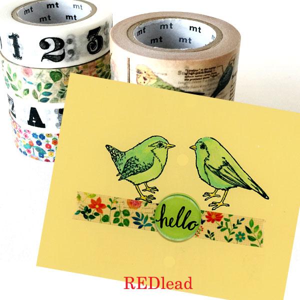 Washi-Tape-Bird-Card
