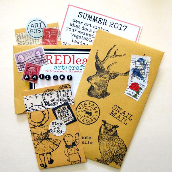 Mail-art-summer